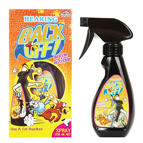 BEARING Back Off Dogs and Cats Repellent Spray Indoor and Outdoor Usage Keep Off Spray 8.45 fl oz. (250 ml.) ()