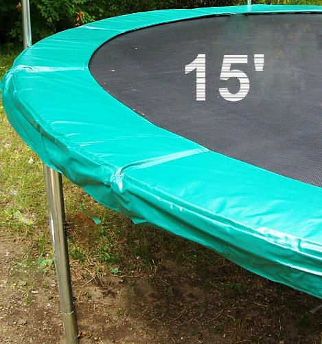 15' Trampoline Green Safety Pad to Cover Thr TrampolineUpper Bounce by Upper Bounce