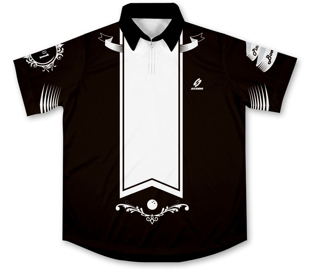 ScudoPro Three Strikes Bowling Jersey - Size M by ScudoPro
