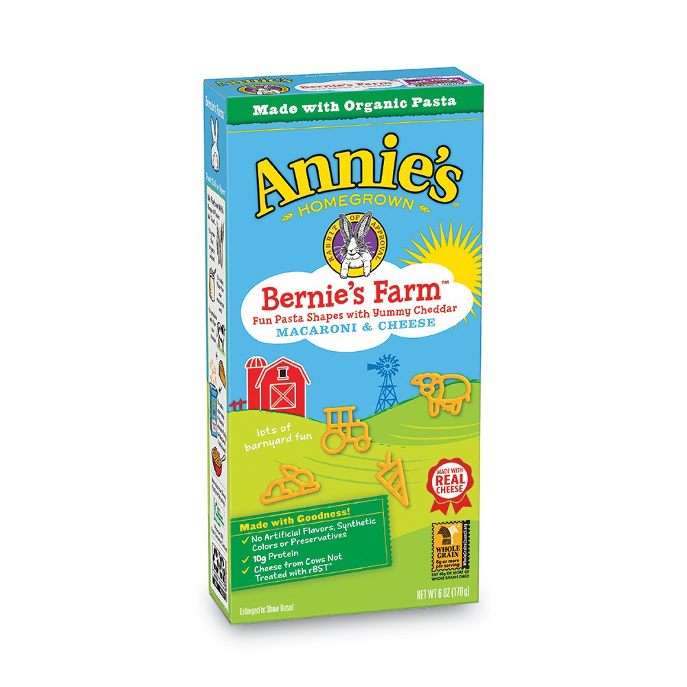 Annie's Bernie's Farm Macaroni & Cheese, 12 Boxes, 6oz (Pack of 12)