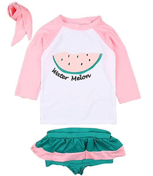Amazon.com: rewangoing bebé niños niñas piezas sandía ...