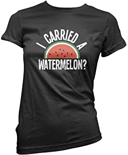 ac66bef55 I Carried A Watermelon? Mens & Ladies Unisex Fit T-Shirt: Amazon.co ...