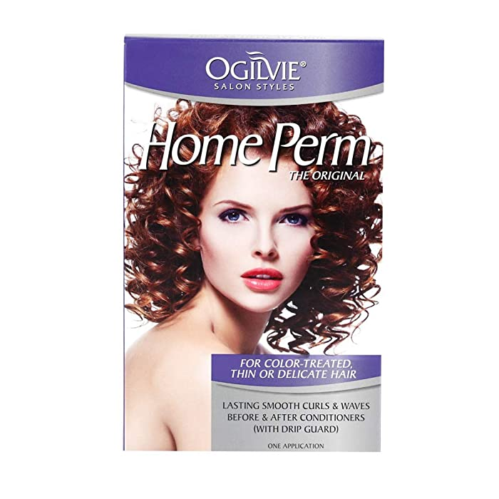Ogilvie Salon Styles Professional Perm for Color Treated, Thin or Delicated Hair