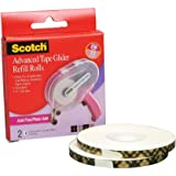 Scotch 085-RAF 1/4-Inch by 36-Yard Acid Free ATG Advanced Tape Glider Refill Rolls, 2 Rolls per Box(2Pack )