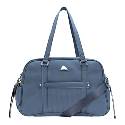 Bolso Maternidad Mayoral Polipiel Color Azul Marino: Amazon ...
