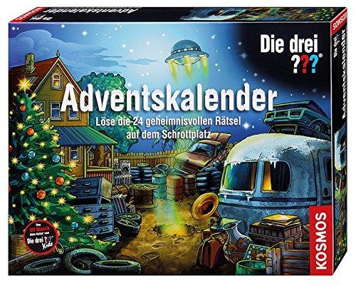 Kosmos 630966 - Die Drei ??? Adventskalender 2017 Lernen Spiele für Drinnen