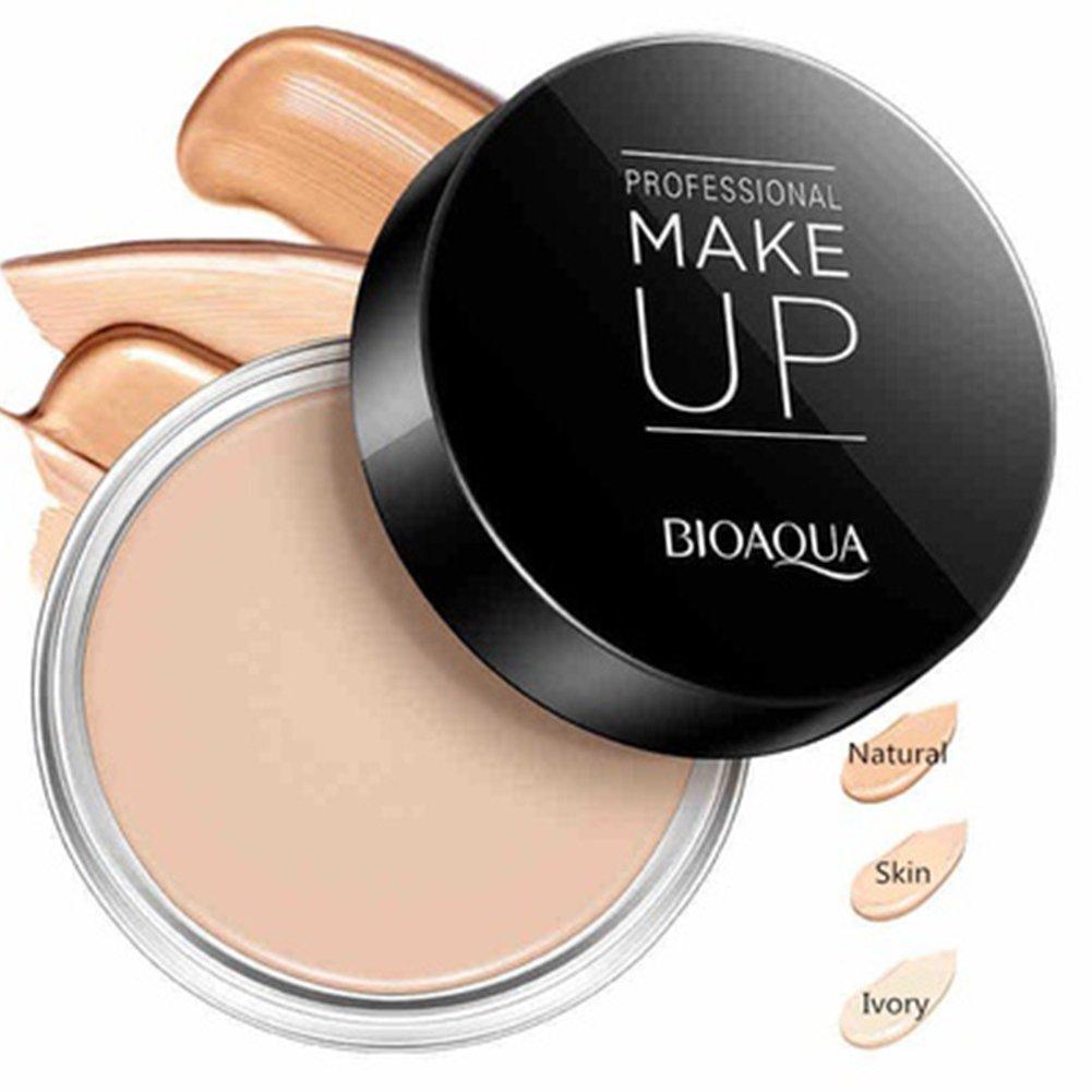 Corrector Crema, bioaqua profesional corrector Corrector Natural Hidratante de Control de Aceite Maquillaje en crema para contorno de cara