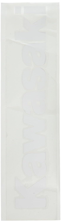 Kawasaki Factory Effex 09-94130 White 3 Die-Cut Sticker