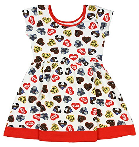 Star Wars Heart Good Guys Big Girls Dress (X-Large)
