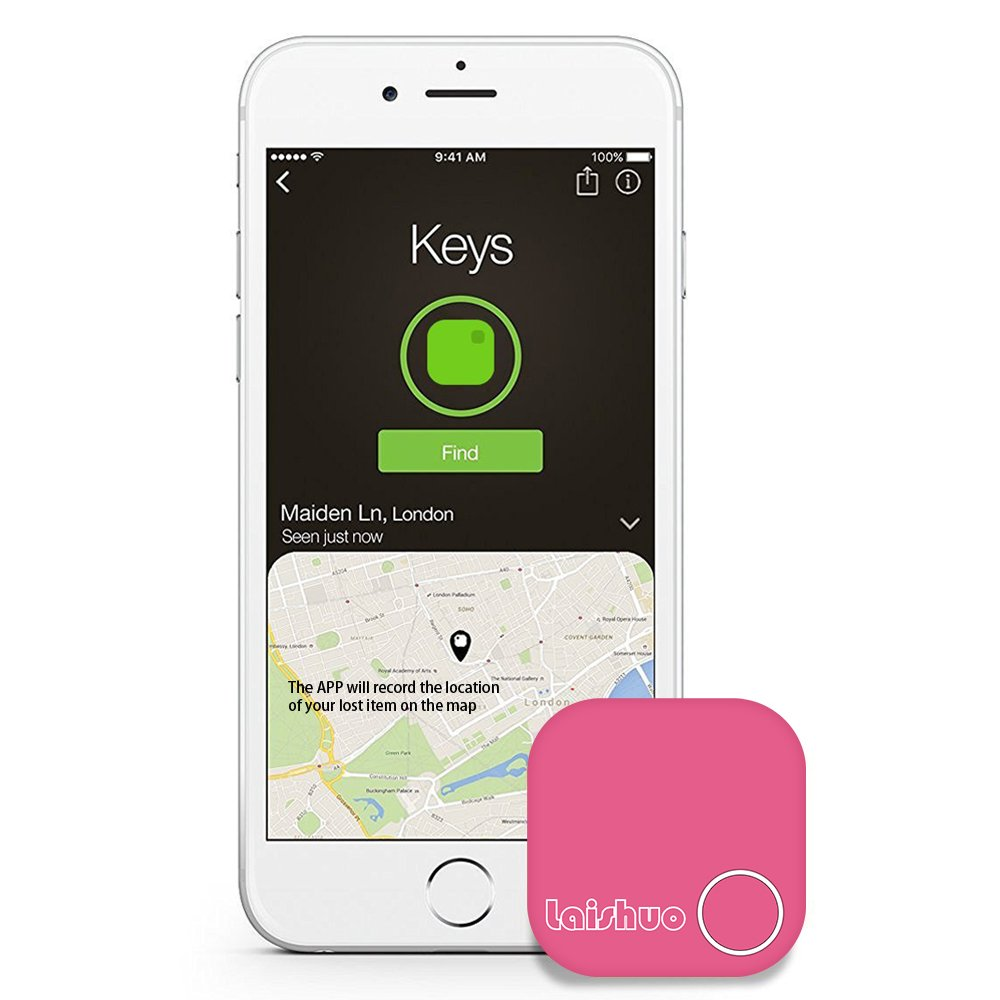 Bluetooth Tracker, Bluetooth keys Tracker, Bari Key Finder Tracking Wallet Key Bag Pet Dog Tracer Locator Alarm Patch GPS Locator for iOS/iPhone/iPod/iPad/Android by Bari (Image #4)