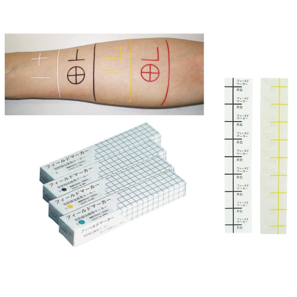 放射線治療用フィールドマーカー CM200 白 ●規格:直線200㎜●入数:100本   B0787G4MQM