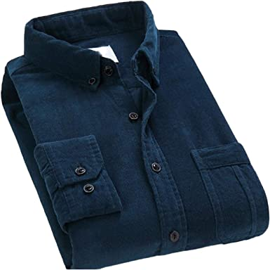 Aooword-men clothes Blusas tejidas camisa de botones de pana divertido casual Para Hombres: Amazon.es: Ropa y accesorios