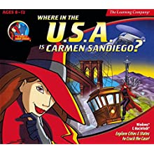Where is the U.S.A. is Carmen SanDiego? v4.0