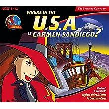 Where is the U.S.A. is Carmen SanDiego? v4.0