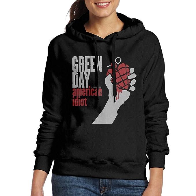 Amazon.com: Green Day American idiota de la mujer Champion ...