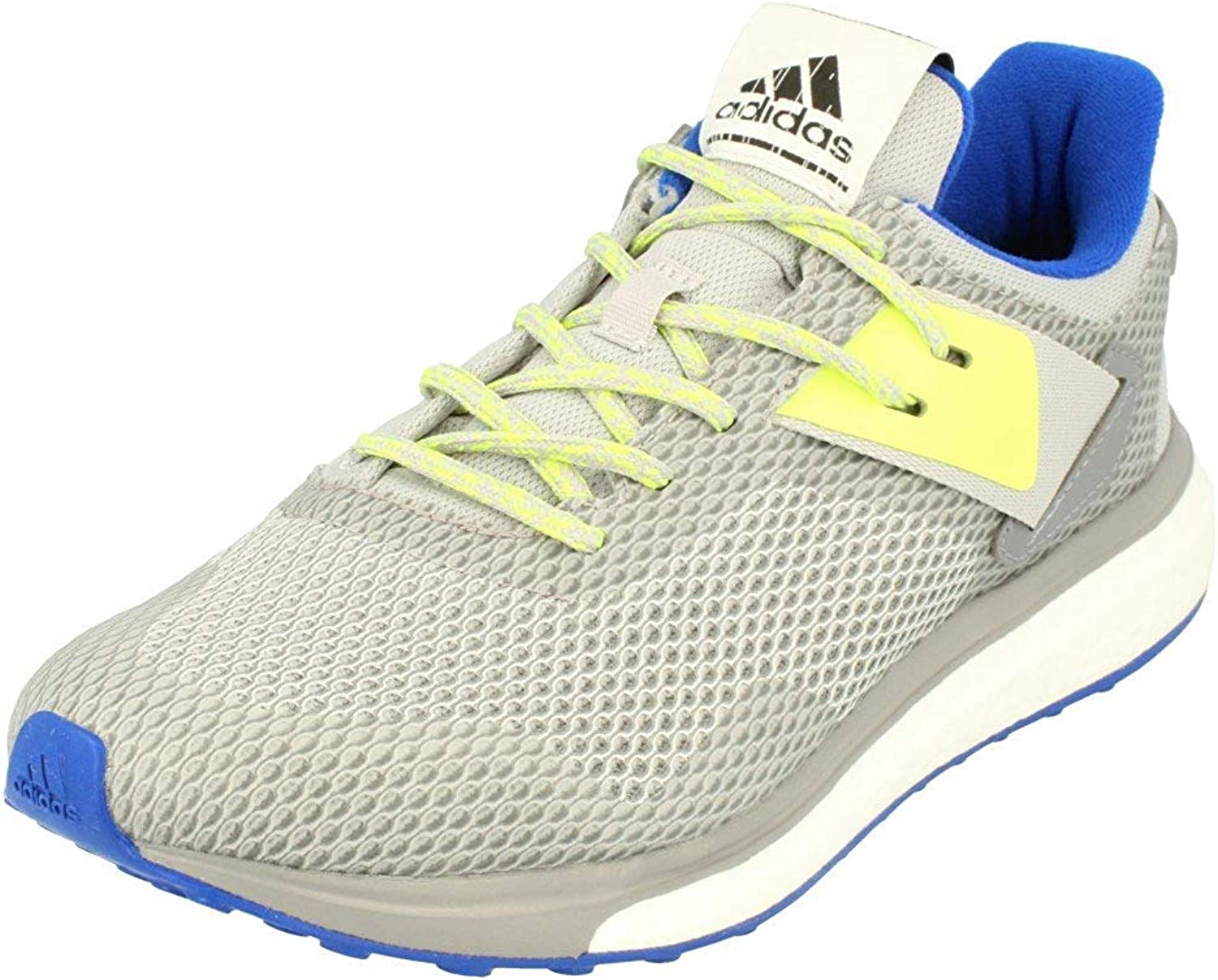 Adidas Response 3 Boost Hombres Running Sneakers (UK 7.5 US 8 EU 41 1/3, Grey Blue White AQ2498)