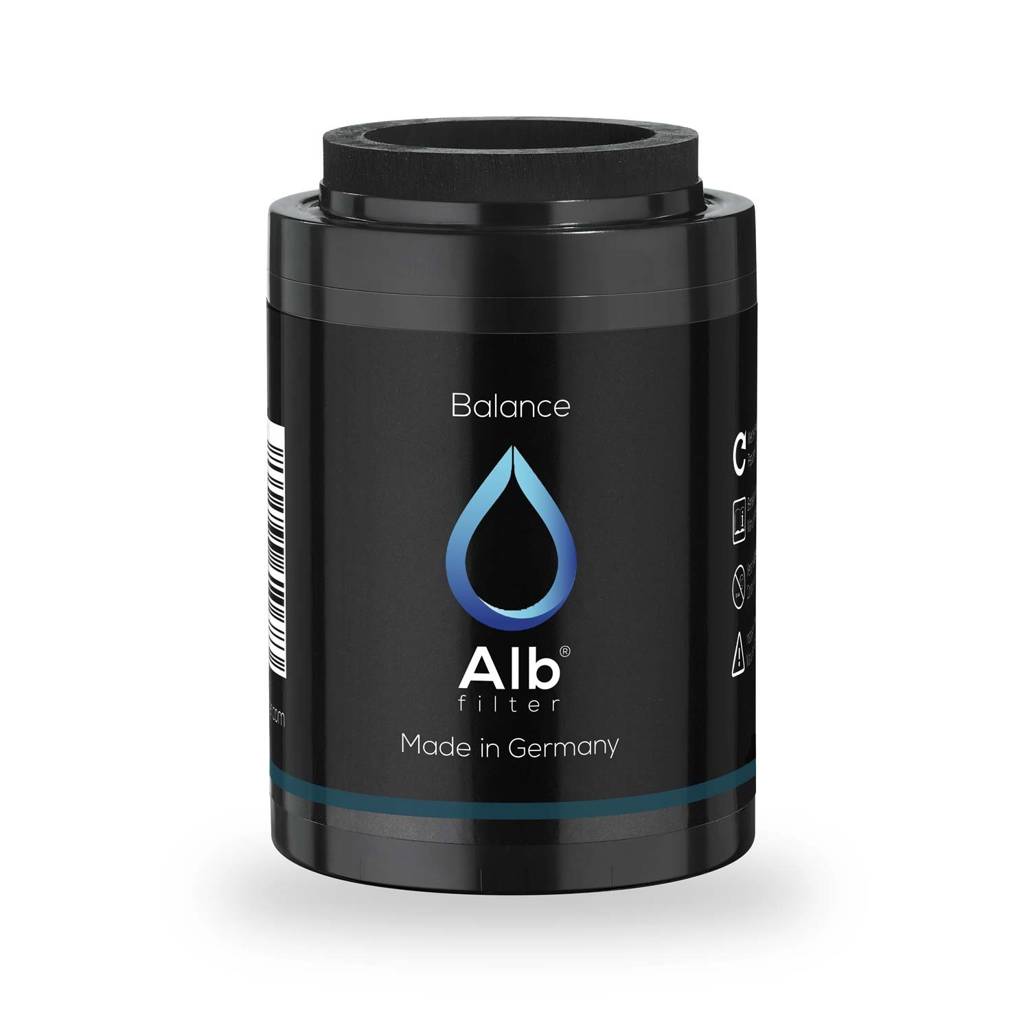 Alb Filter Balance Shower Filter Replacement Cartridge for Healthy Skin and Hair Reduces harmful substances. Made in Germany.