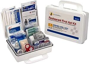 25 Person First Aid Kit, ANSI A, Restaurant Bulk Kit Plastic Case - OSHA Emergency Kit Trauma Kit First Aid Kits for Restaurants
