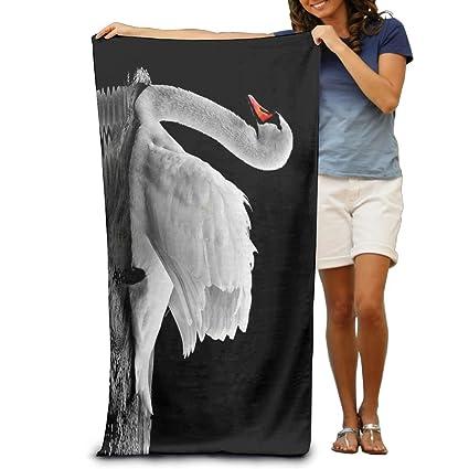 Premium calidad cisne blanco piscina toalla, toallas de baño para baño, gimnasio, y