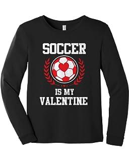 Threadrock Girls Soccer Player Fitted T-Shirt Team Goalie Sports Cool Design