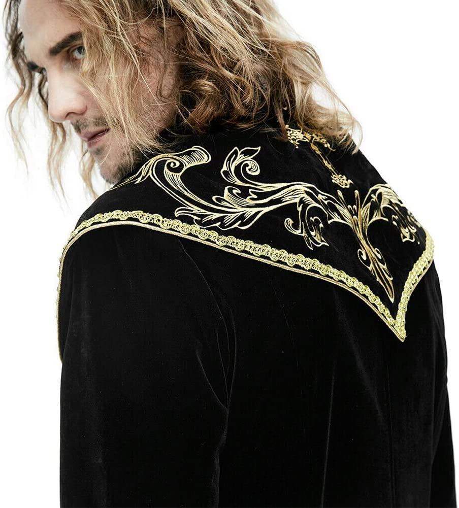 Wtter Chaqueta Medieval Vintage para Hombre Frock Tailcoat, Coat ...