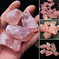 Chuanfeng Natural Rosa Cuarzo Cristal Piedra Roca Mineral
