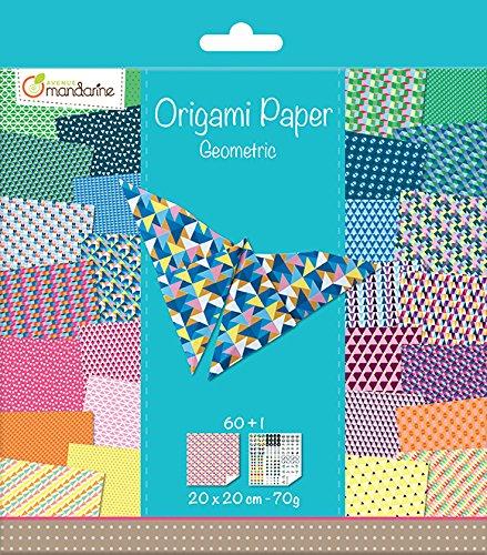Avenue MandarineLove origami Paper Clairefontaine OR500O