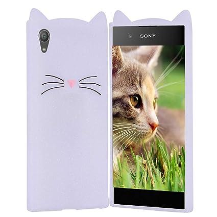 HopMore Gato Funda para Sony Xperia XA1 Ultra Silicona ...