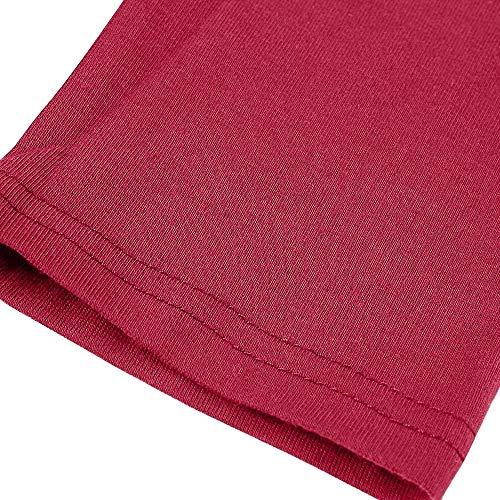 V Chemises Manches Lâche Bouton Hauts Mode Rouge Col Femme Honestyi D'hiver Automne De Femmes Manteau Longues Solide Chemisier Vêtements qS6pF1