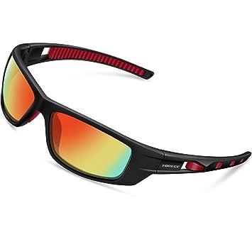 Gafas de sol polarizadas TR040 de Torege, para correr, pescar, practicar golf y