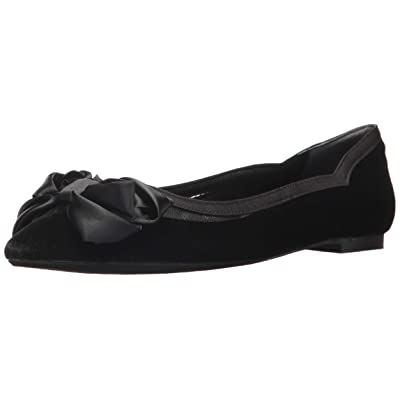 J.Renee Women's ALLITSON Pump, Black Velvet, 9 M US | Flats