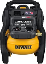 DEWALT DCC2560T1 FLEXVOLT 60V MAX 2.5 Gallon Cordless Air Compressor Kit (Made In the USA