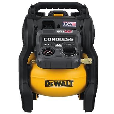 DEWALT DCC2560T1 FLEXVOLT 60V MAX 2.5 Gallon Cordless Air Compressor Kit (Made In the USA)