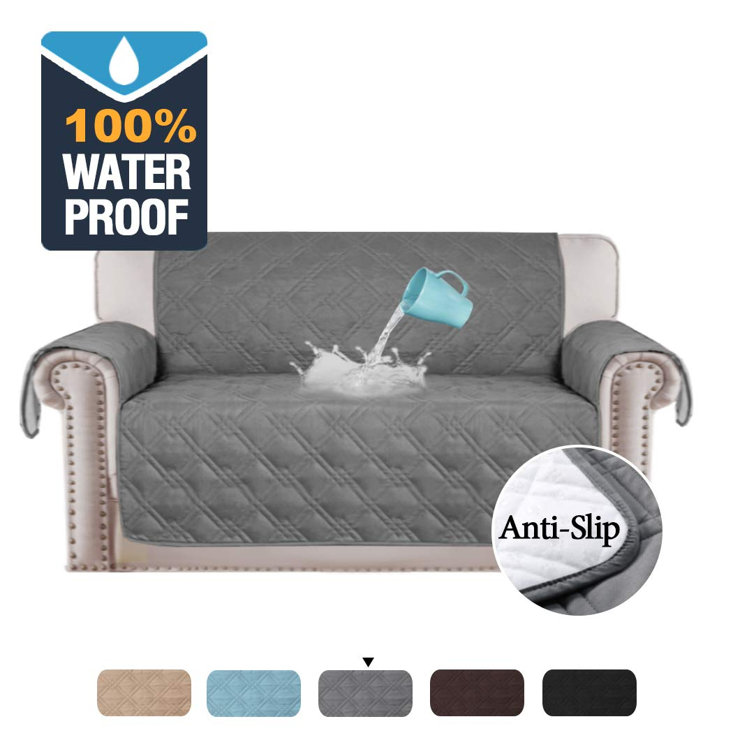 Astounding H Versailtex 100 Waterproof Slip Resistant Loveseat Slipcover Water Repellent Furniture Protector Quilted Furniture Covers Couch Cover For Pets Uwap Interior Chair Design Uwaporg