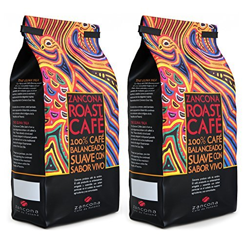 Zancona Medium Roast Coffee Whole Coffee Beans - Fresh Roasted Colorful Coffee Blend From Panama (2 lbs Whole Bean Specialty Coffee) – 100% Arabica Coffee Ethical Gourmet Coffee Beans