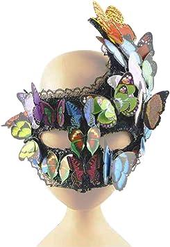 Luna Nueva Mardigras 3d mariposa disfraz de máscaras máscara Drag ...