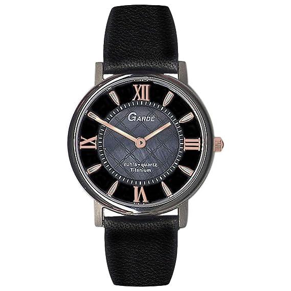 Gardé by Ruhla Moderno Mujer Reloj Elegance 7973 – 6 Titanio