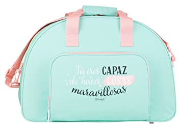 Safta Mr. Wonderful Bolsa de Deporte, 20 litros, Color Verde: Amazon.es: Deportes y aire libre