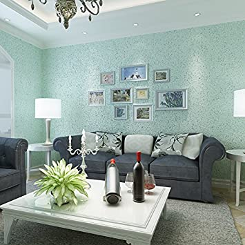 Xiajingjing Uni Farbe Tapete Tapeten Tapete Wohnzimmer Esszimmer Schlafzimmer  Mediterraner Stil Mit Tapete, Light Blau