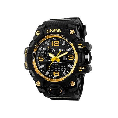Teepao - Relojes Hombre con Esfera Grande, Reloj Sumergible Deportivo, Relojes Inteligentes, Super