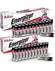 Energizer MAX AA Batteries & AAA Batteries Combo Pack, 48 AA and 48 AAA