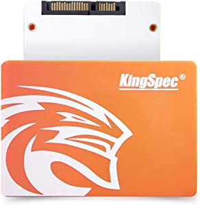 "KingSpec SSD 480GB Internal Solid State Drive for PC, Laptop Sata3 2.5"" 7mm Hard Disk for Computer P4-480"