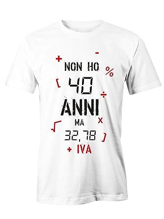 Puzzletee - Camiseta de cumpleaños No Ho 40 años Sino 32,78 ...