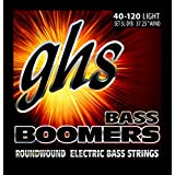 GHS Strings 5L-DYB Electric Bass Boomer String Sets Nickel Plated Guitar Strings, Light