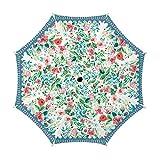 Michel Design Works Travel Umbrella 38'' Diameter, Wild Berry Blossom