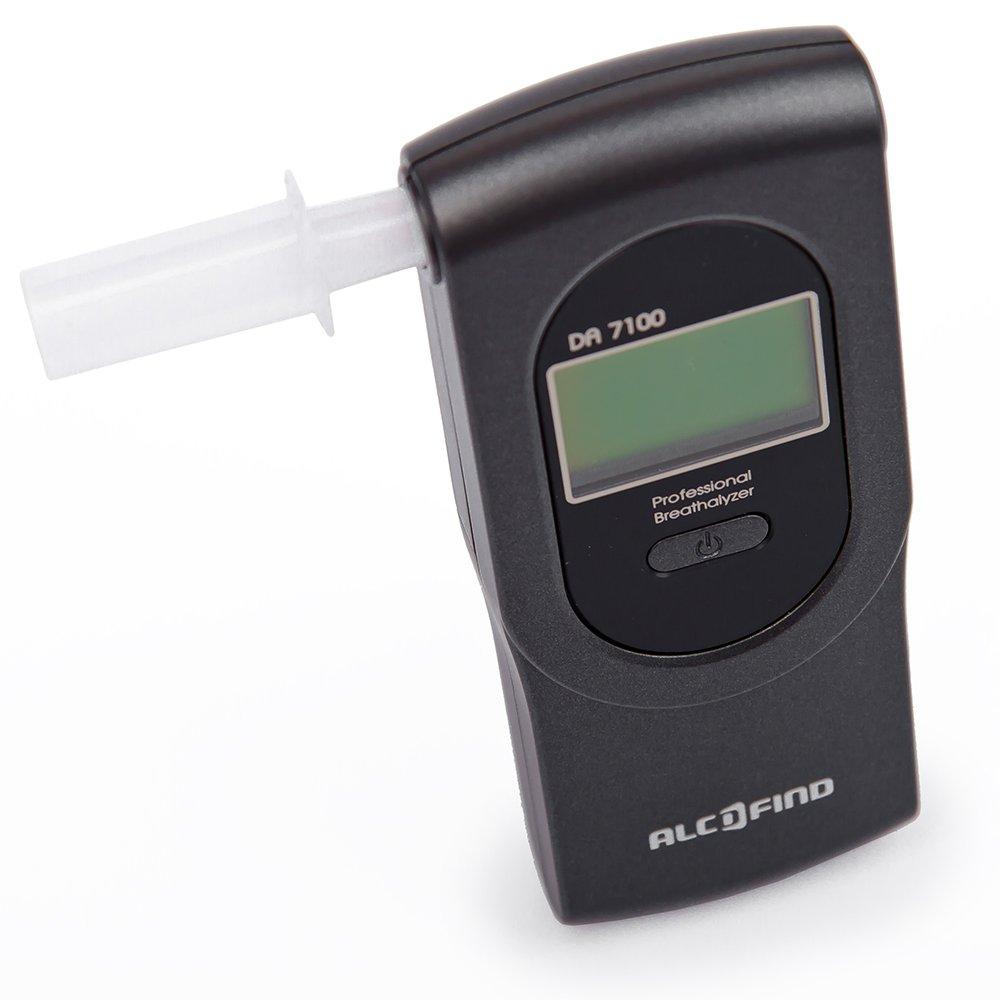 Digital breathalyzer AlcoFind DA-7100 / Accurate alcohol test / 5 Years warranty