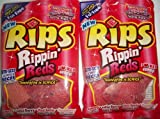 Rips Rippin' Reds Bite-Size Licorice Pieces 8 Oz