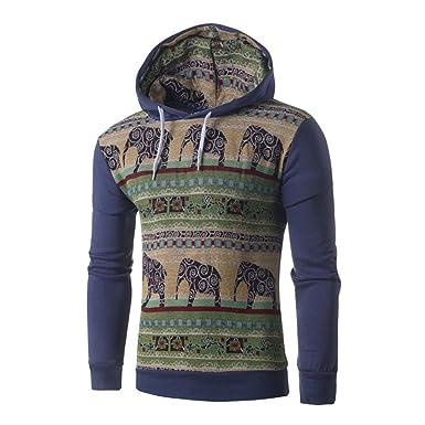 Cappuccio Manica Giacca Cappotto Uomo Lunga Felpa Autunno E Pattern Con Hooded Swearshirt Inverno Maglione Animale sQrCxtBhd
