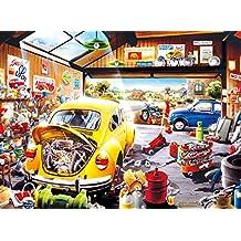 Buffalo Games Sam's Garage by Hiro Tanikawa Jigsaw Puzzle (1000 Piece)