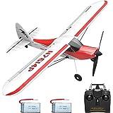 VOLANTEXRC RC Airplane 2.4Ghz 4-CH with Aileron Sport Cub 500 Parkflyer Remote Control Plane RTF with Xpilot Stabilization Sy
